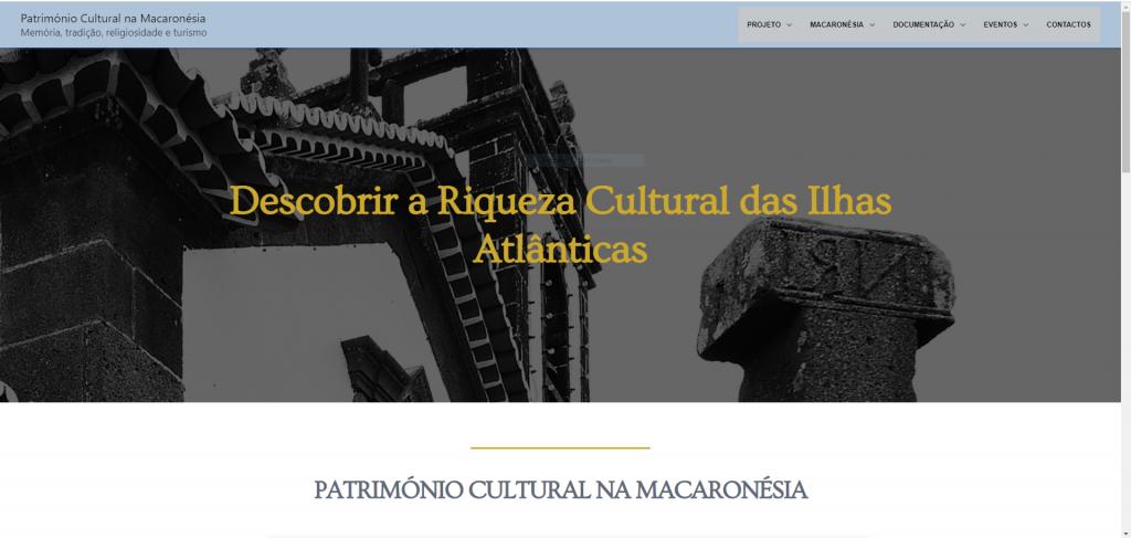 Património Cultural na Macaronésia – Website